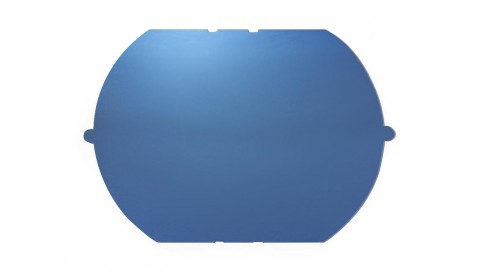 NYLON mirror BLUE BASE200+BLUE COATING