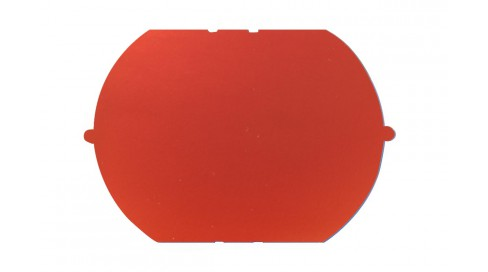 NYLON mirror FIRE RED BASE200+BLUE COATING