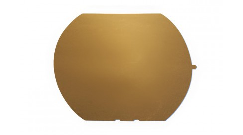 NYLON mirror GOLD BASE200+BLUE COATING