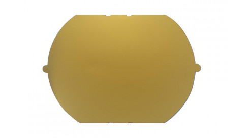 NYLON mirror LX GOLD BASE200+BLUE COATING