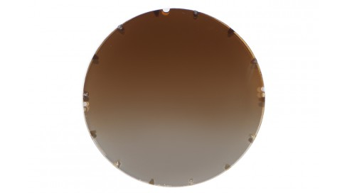 CR39 GRADIENT BROWN POLARIZED BASE400+BLUE COATING